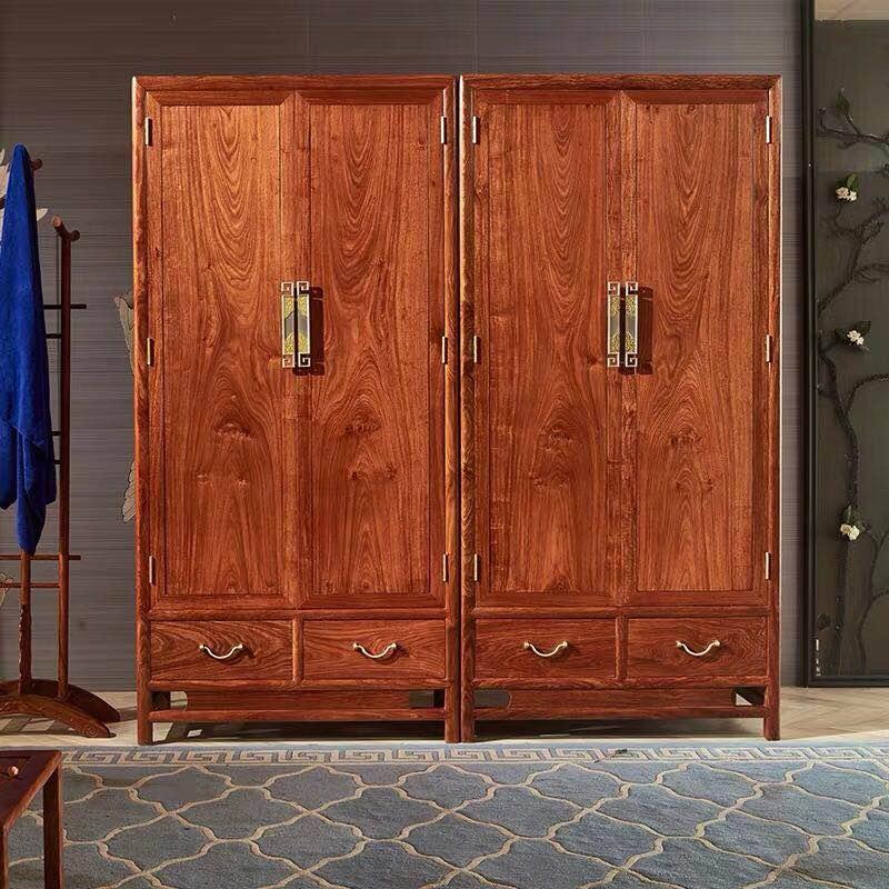红木大衣柜