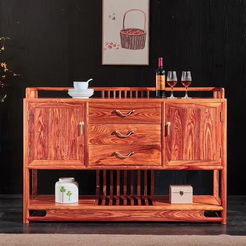 红木酒柜隔厅柜