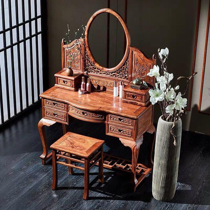 新中式红木梳妆台